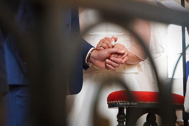cérémonie de mariage dans l'église