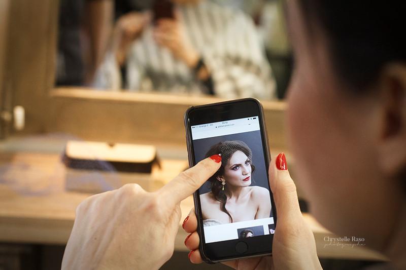 préparatifs de mariage coiffeur