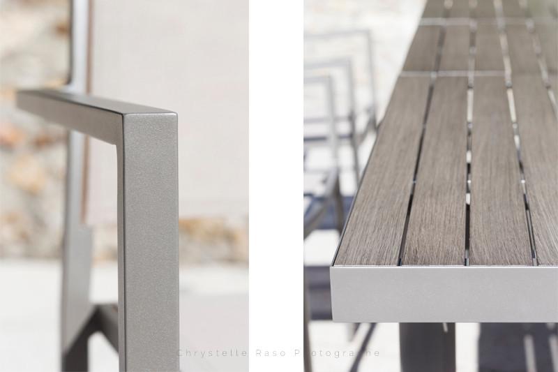 Chrystelle raso photographe  détail meubles de jardin TERRIA