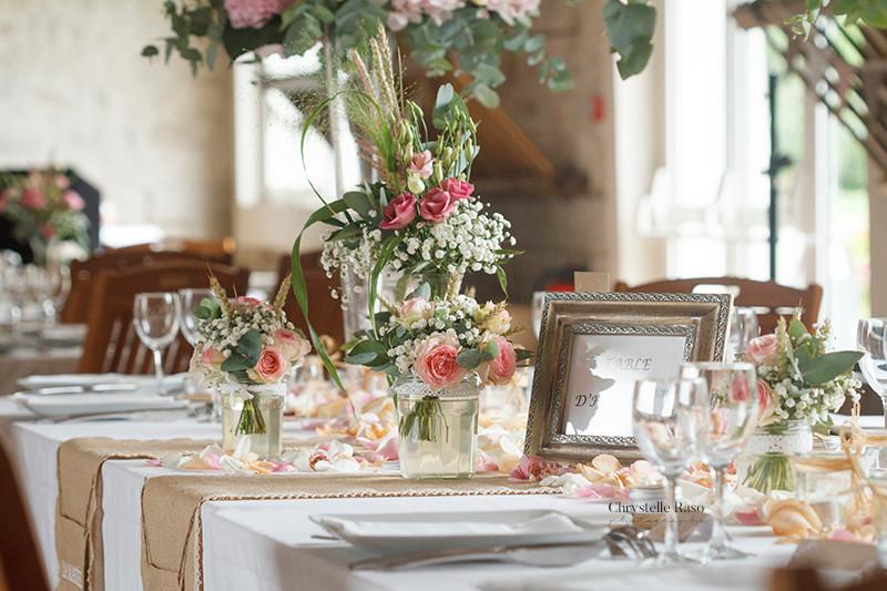 mariage décoration de la salle