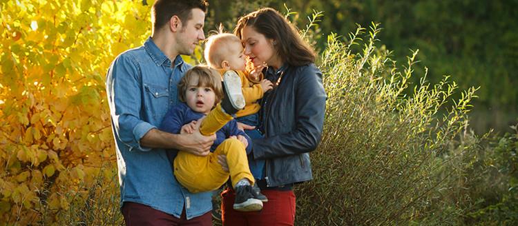 Séance photographie de famille en région Parisienne