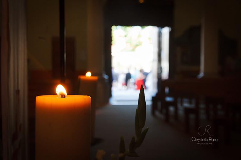 cérémonie à l'église