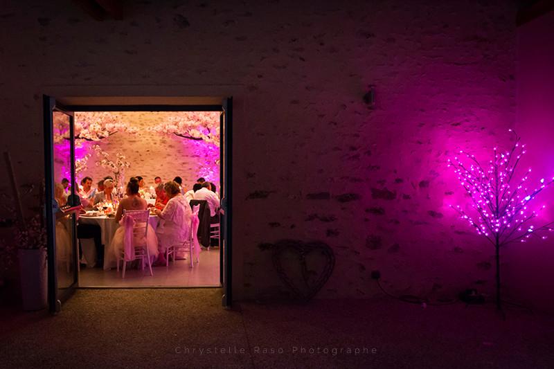 Soirée Salle de mariage Fontenay trésigny clos du Colombier