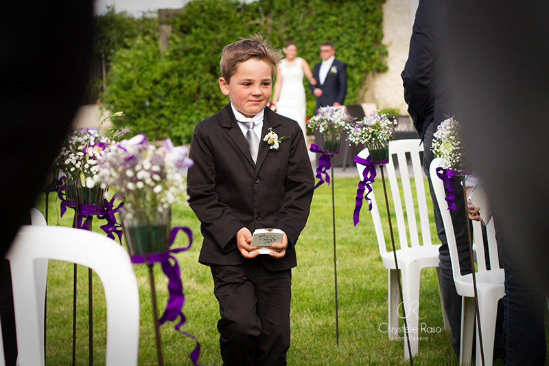 garçon d'honneur mariage chrystelle raso photographe