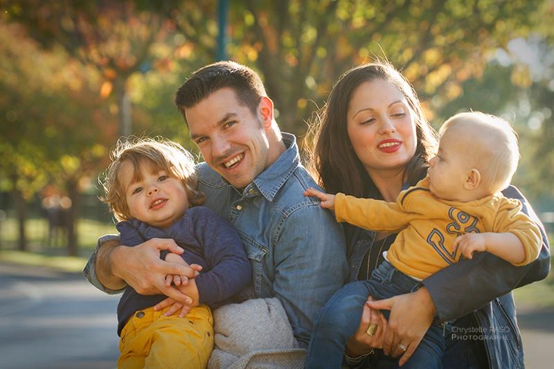 séance photographie de famille