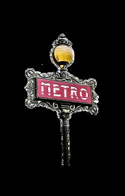 illustration entrée de métro