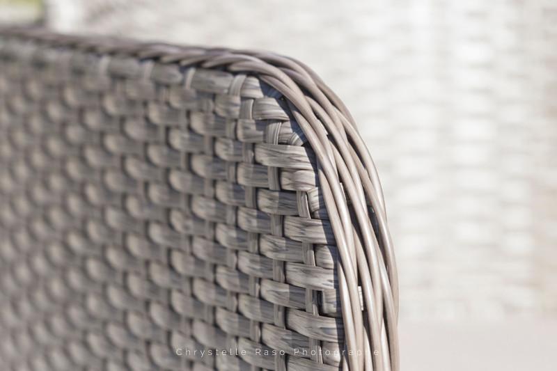 détail d'un meuble de jardin TERRIA chrystelle raso photographe