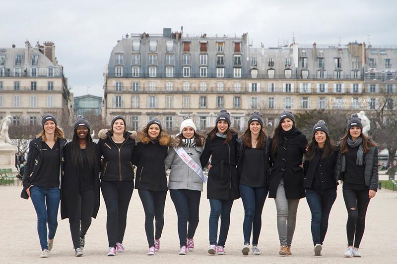 EVJF à Paris en hiver