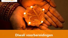 Diwali voorbereidingen