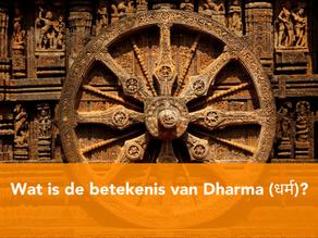 Betekenis van Dharma - Dharma (1/4)
