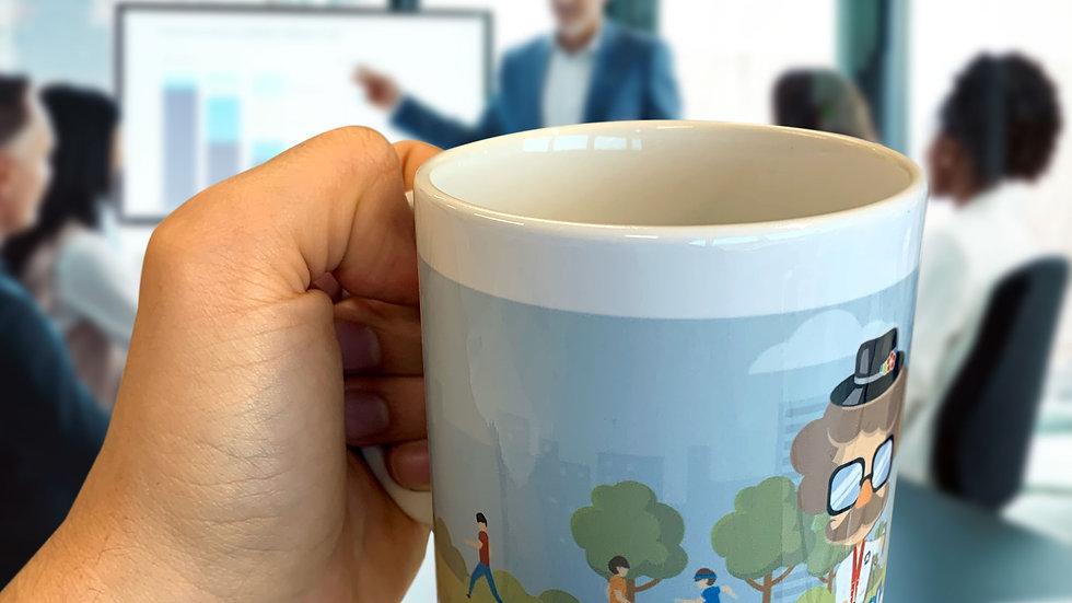 Kaffeetasse Professor Plastic