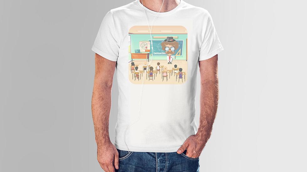 Herren Baumwoll T-Shirt - Professor Plastic School