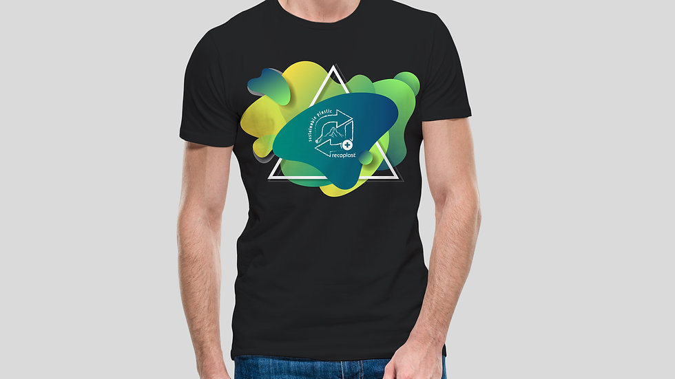 Herren Baumwoll T-Shirt - Sustainable Plastic