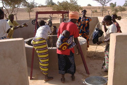 Collecting Water From A New Well