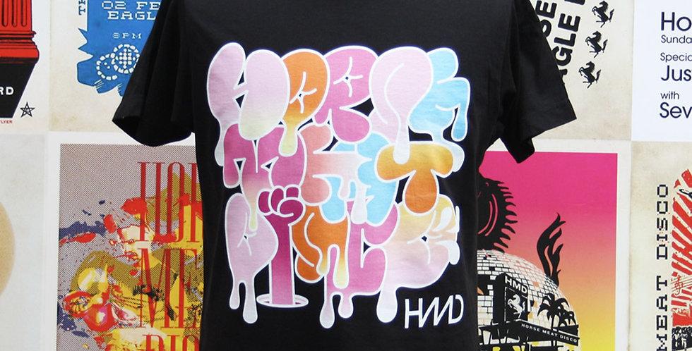 HMD T-shirt by Pete Fowler - BLACK