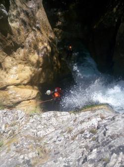Canyoning Greece
