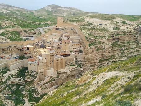 גיידבוק: ואדי חג'ר (מנזר מרסבא)
