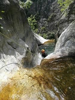 Milopotamos Canyon