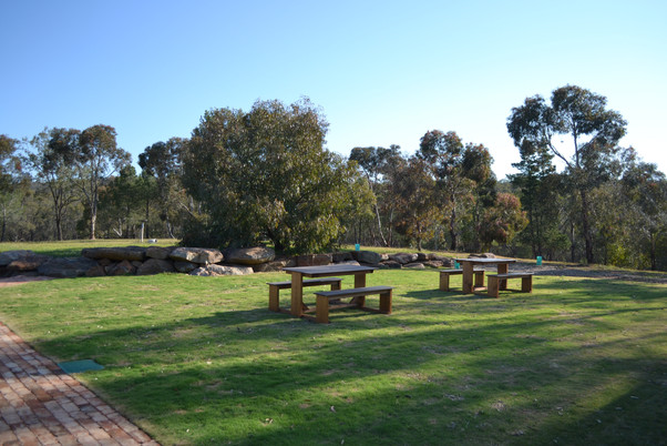Outside Grass Area and Picnic Seating