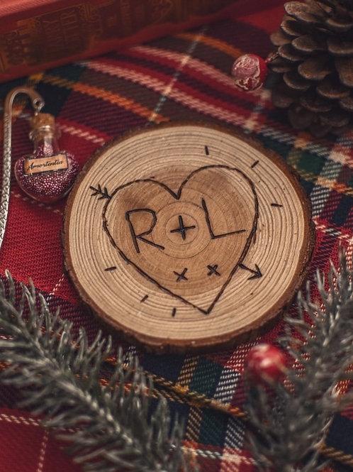 Love-heart Coaster