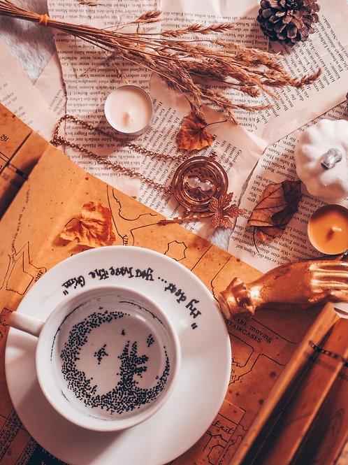 Tea leaves mug