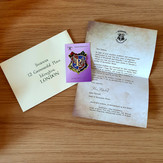 Personalised Prefect Letter