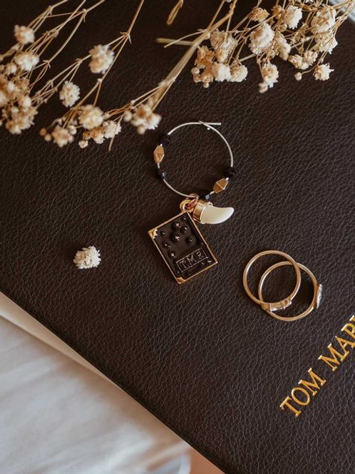 Collectible Diary wine charm