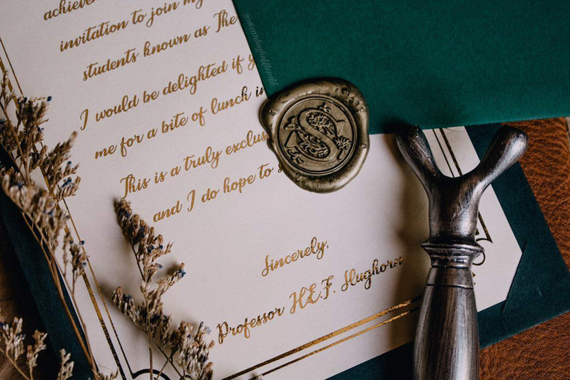 Slughorn Invitation
