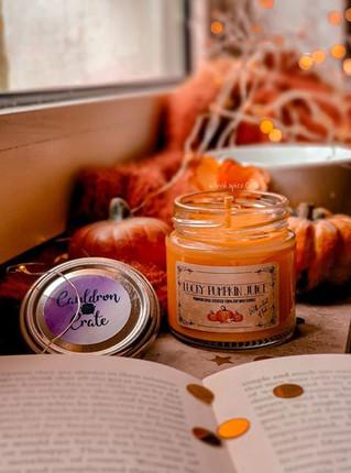 Lucky Pumpkin Juice Candle