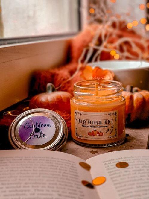 Lucky Pumpkin Candle