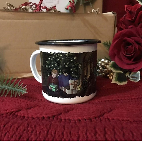 10oz Great Hall Enamel Mug