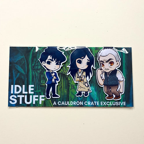 Heir of Slytherin Magnetic Bookmarks