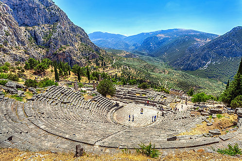 Oil Painting Holidays in Delphi Greece - Single Accom. Deposit 8-16/10/2019
