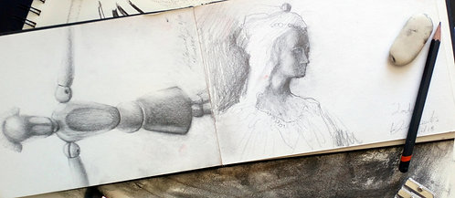 Gold Package Studio Drawing & Oil Painting Voucher