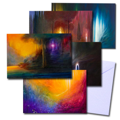 """pack of 5 greeting cards"" Click of Options"