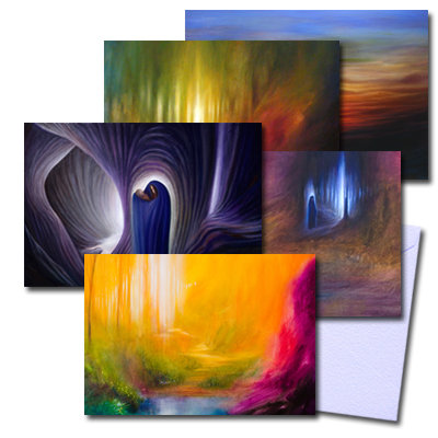 Mixed pack of 5 Greeting Cards
