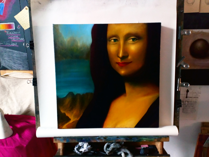Mona Lisa 2019 in Colour