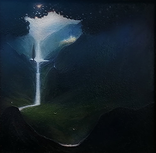 """""""Oh The Light"""" Oil painting"""