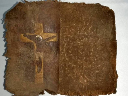 """""""They recover ancient Aramaic Bible that was going to be sold by smuggling"""""""
