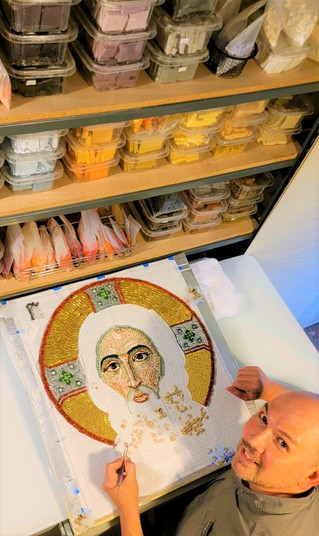 """3-Day Byzantine Mosaic Course"""