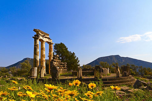 Oil Painting Holidays in Delphi Greece - Shared Accom. Deposit 8-16/10/2019