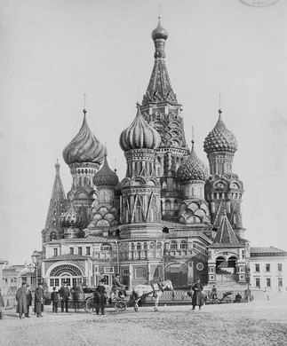 Photos of Moscow Before the Revolution (