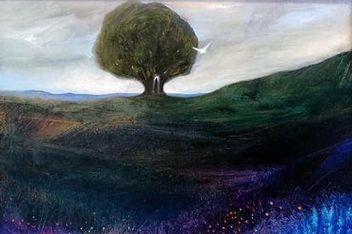 I am Here - Oil on Canvas - Original