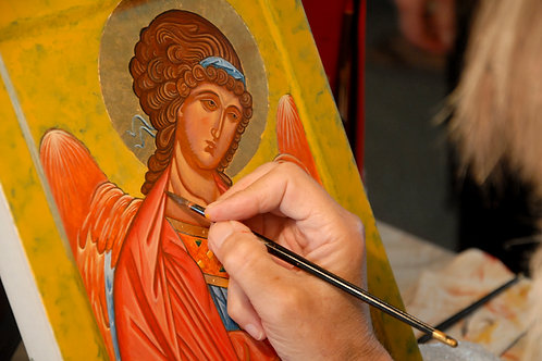 Icon Painting Workshop 20/2/-20/3/2017