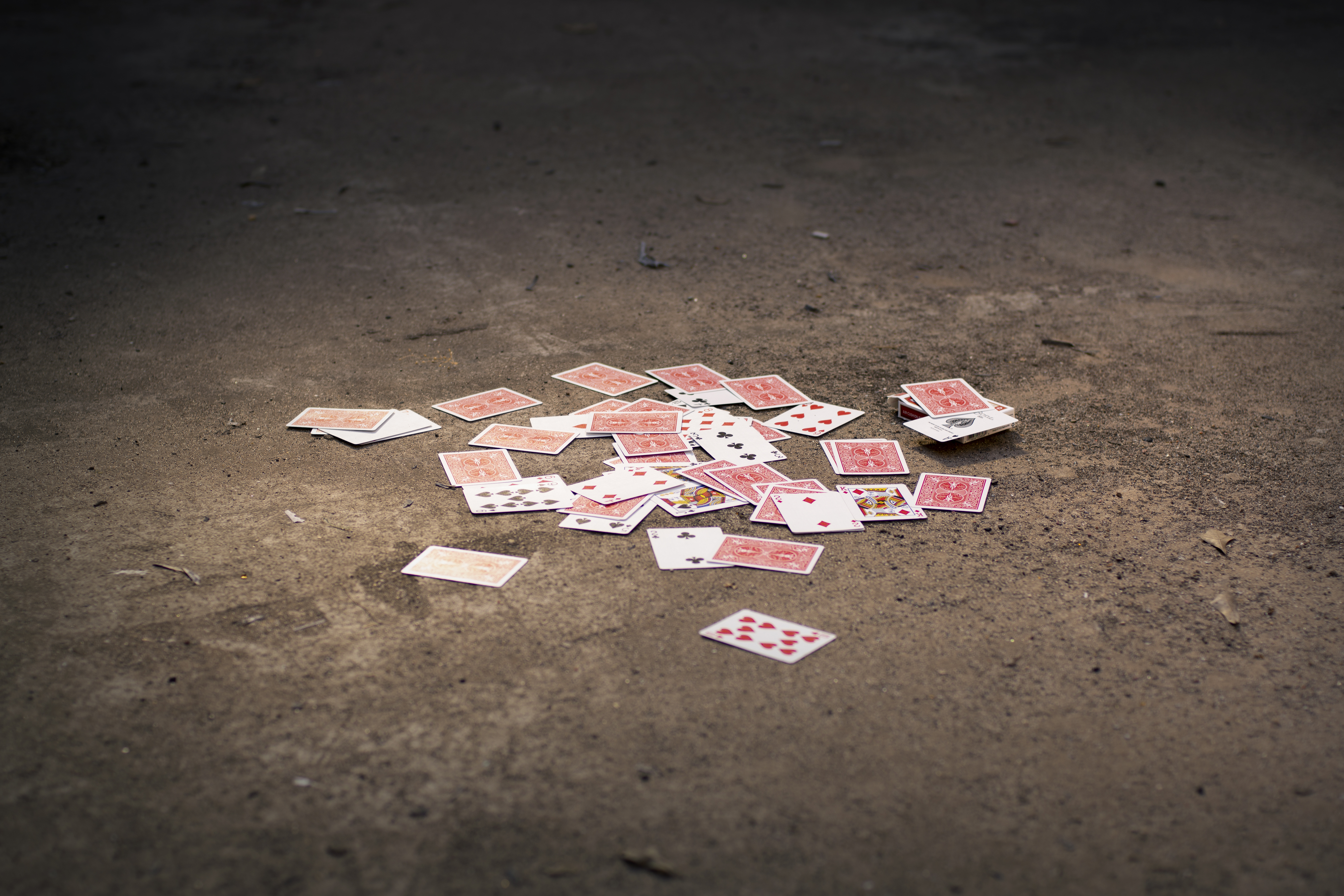 Cards In Dirt