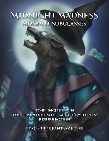 Midnight Madness - 5 Moonlit Subclasses in COSMR