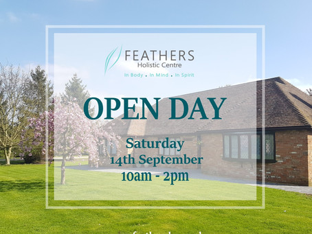 Feathers Holistic Centre Open Day