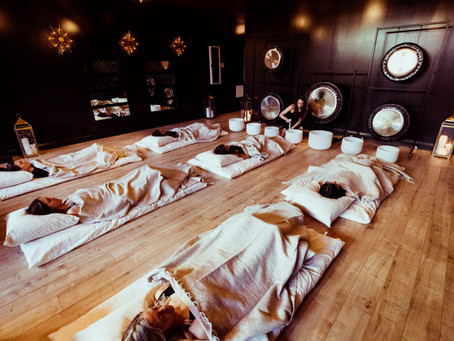 Gong & Sound Bath therapy