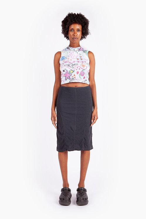 TOILE STUDIO - Suffix Skirt Long/Charcoal