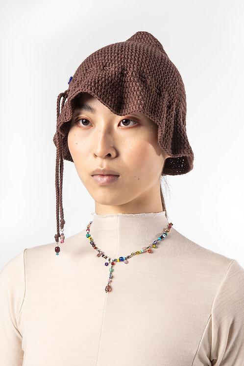 POMS- Millefiori Hat, Chocolate OR Black